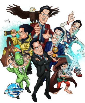 Stephen Colbert comic book
