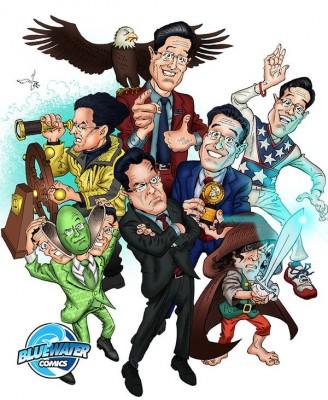Stephen Colbert comic book
