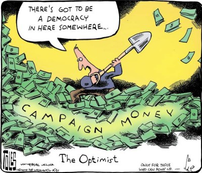 election campaign cash