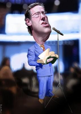 Rick Santorum, church and state, by DonkeyHotey