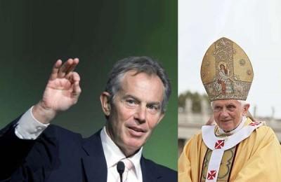 Tony Blair, Pope Benedict