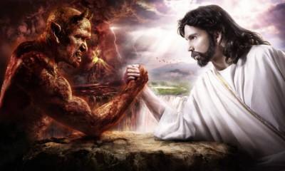 devil v jesus