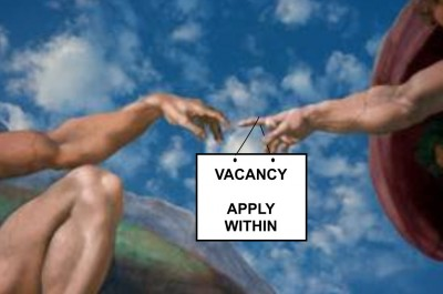 Humanity God Vacancy