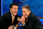Colbert Has Quit, Now Jon Stewart Is Going - Soon We Shall Be Totally Abandoned