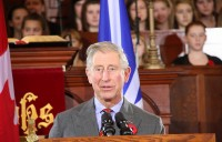 Prince of Wales Address to Congress: 'Wish for Peace'