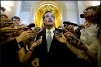 Would-Be Pontiff Ted Cruz Turns Blood to Ice