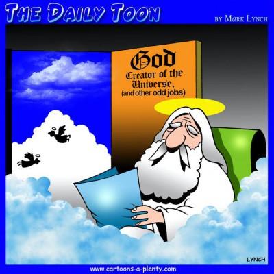 the daily toon, a panel cartoon