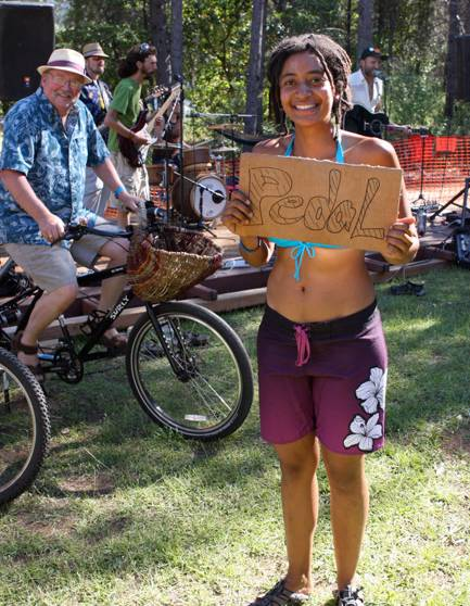 """A """"Pedal-palooza"""" Event Rolls Into Sacramento: Celebrate Bicycling & Music, with a Bike-Powered Stage!"""