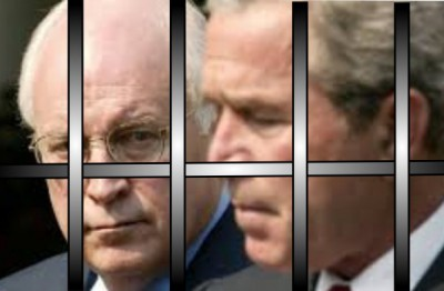 Bush and Cheney, Jail