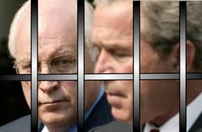 Bush and Cheney, Jail