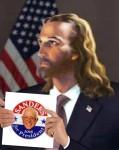 Jesus Christ Endorses Bernie Sanders for President