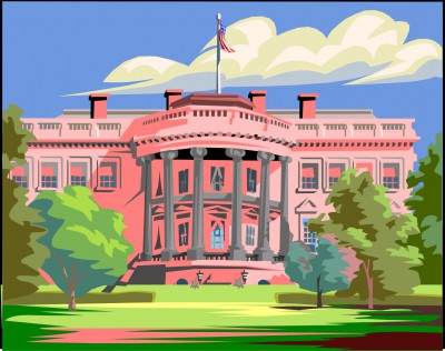 Lindsey Graham Pink White House