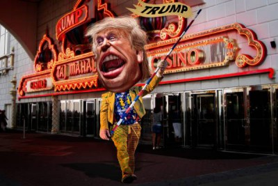 Donald Trump by DonkeyHotey