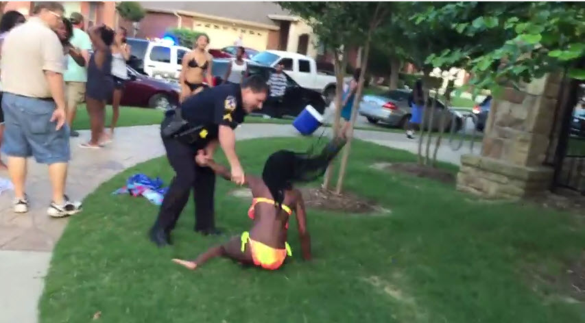 Disturbing Video Shows a Cop Brutally Beat a Child for