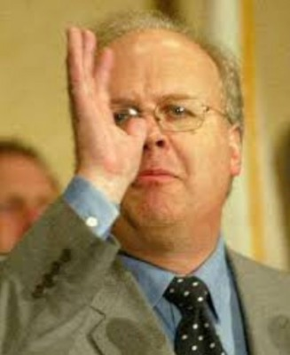 Karl Rove Nasal Salute to Gay Marriage