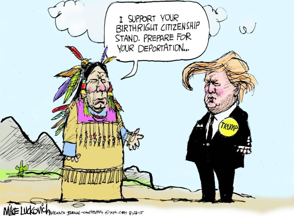 Immigration satire