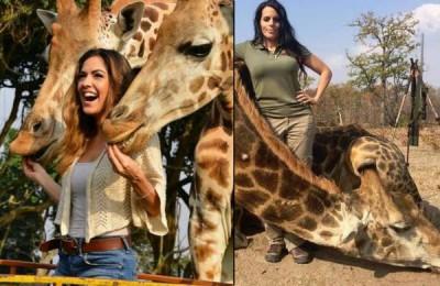 trophy hunting, giraffe, Corgatelli