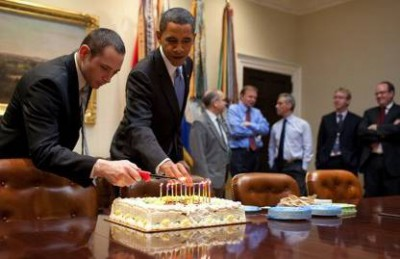 Obama birthday party