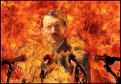 Cheney, Hitler in Hell
