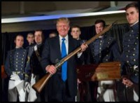 Trump Calls for Gun Groups to Form 'Well-Regulated Militias'