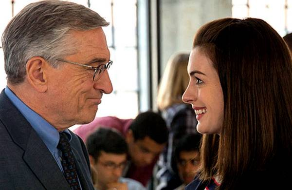 The Intern, De-Niro, Hathaway