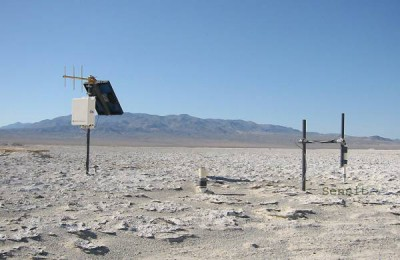 NASA Dry Owens Lake bed in California