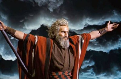 charlton heston as moses, Trump