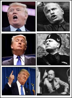 Mussolini and Trump, Constitution