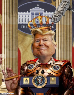 King Trump the Great