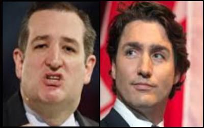Ted Cruz, Justin Trudeau