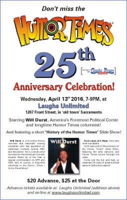 Humor Times anniversary