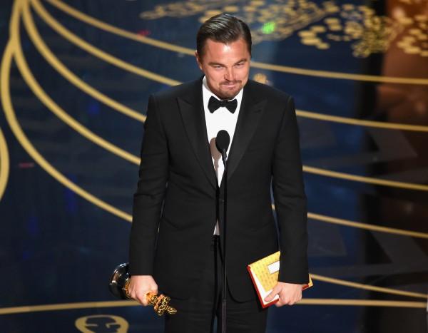 headlines today, Leonardo DiCaprio