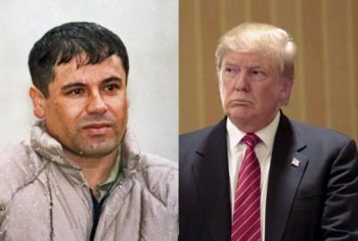 El Chapo, Donald Trump