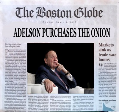 Sheldon Adelson Buys The Onion