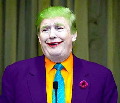 Donald Trump as The Joker