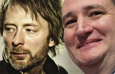 Radiohead, Ted Cruz