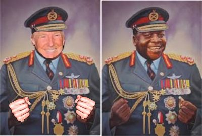 Donald Trump as Ugandan President