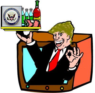 Trump salesman