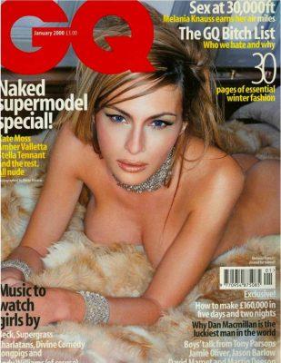 Melania Trump on GQ