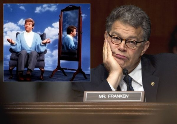 headlines today, Al Franken