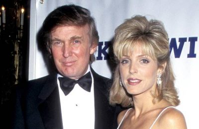 Trump with Marla Maples