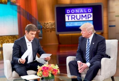 Oz and Donald Trump