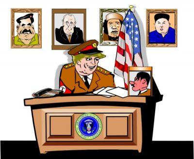 trump dictator