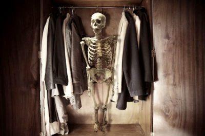 Presidential Candidates skeleton closet