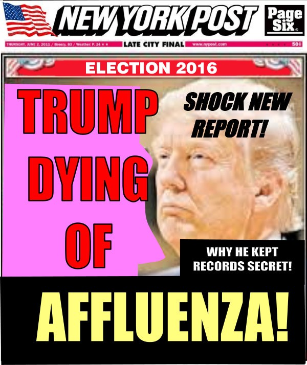 Donald Trump Has Stage 4 Affluenza, Shocking Medical Report Reveals