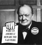 Churchill Thunders Against Trump from Beyond the Grave