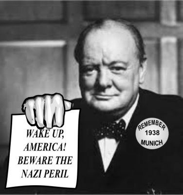 Churchill against Trump
