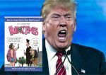 Trump Lambastes 'Humor Times,' 'Onion' Editors in Two-Hour 'Towering Rage' Interview