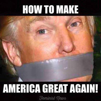 trump duct tape