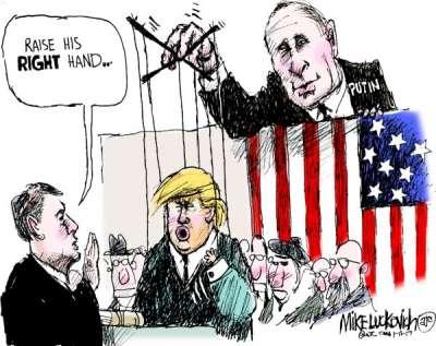 Abonnement, Wahl, Trump, Putin